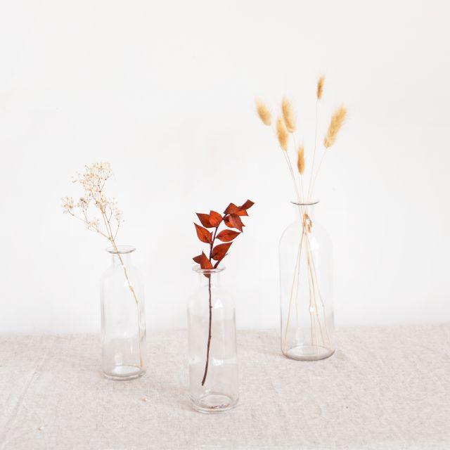 3 deco vases
