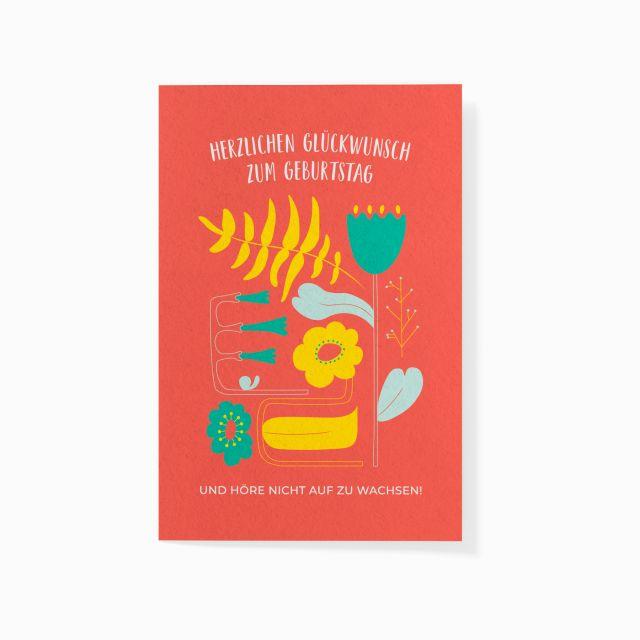 """Pflanzbare Karte """"Alles Gute"""""""