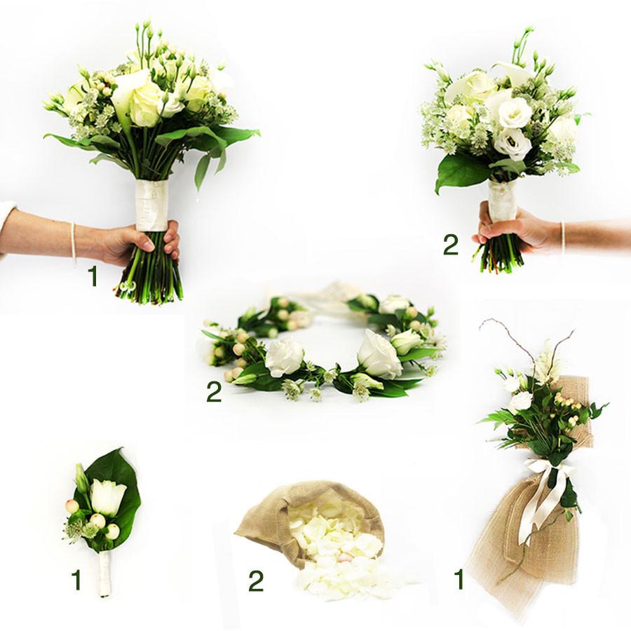 Colecci n de flores para bodas cl sicas colvin - The colvin co ...