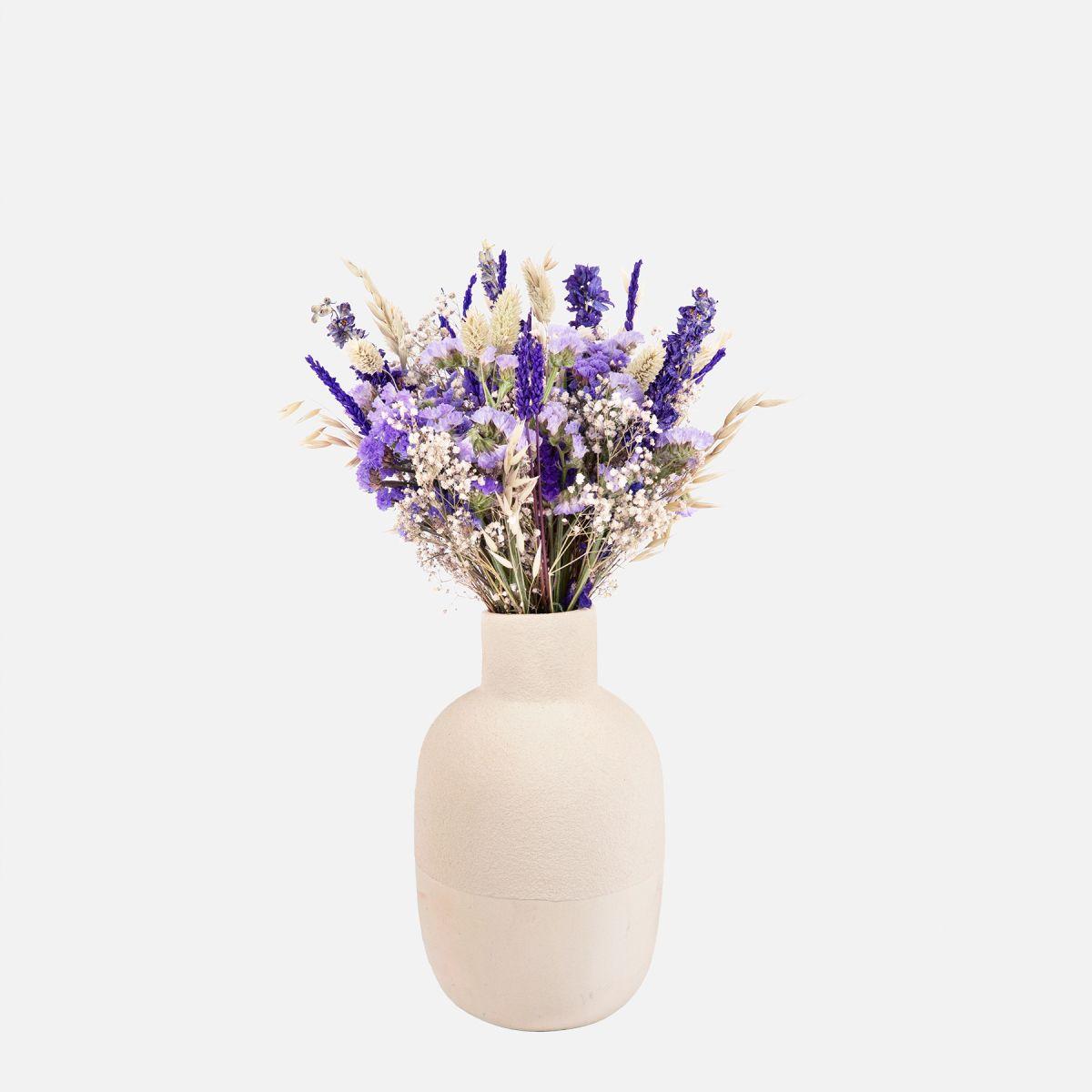 Purple Lavender - Lavanda e Gypsophilia - Fiori a domicilio - Colvin