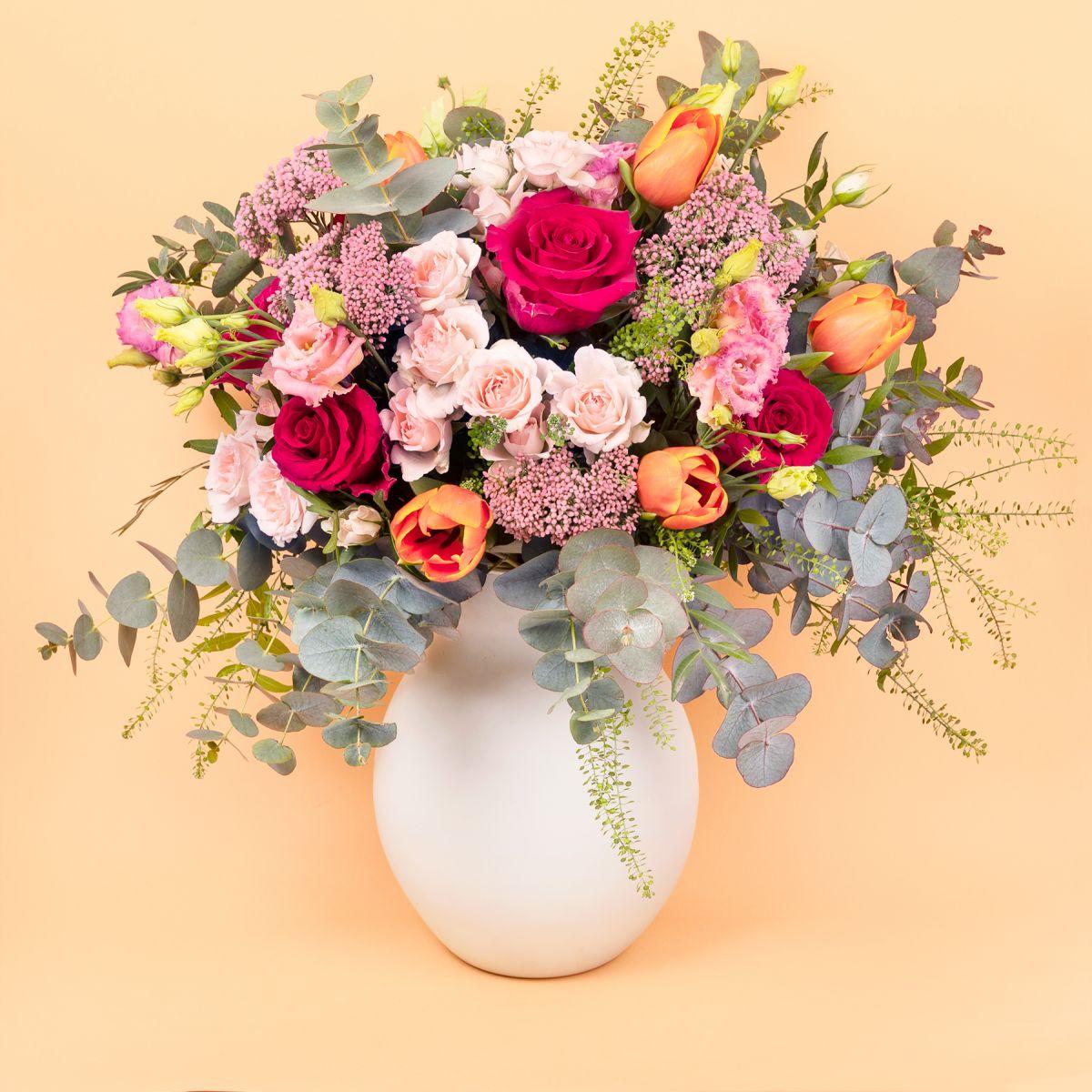 Mazzo di fiori con fiore di riso - Royal Nature - Fiori a domicilio - Colvin