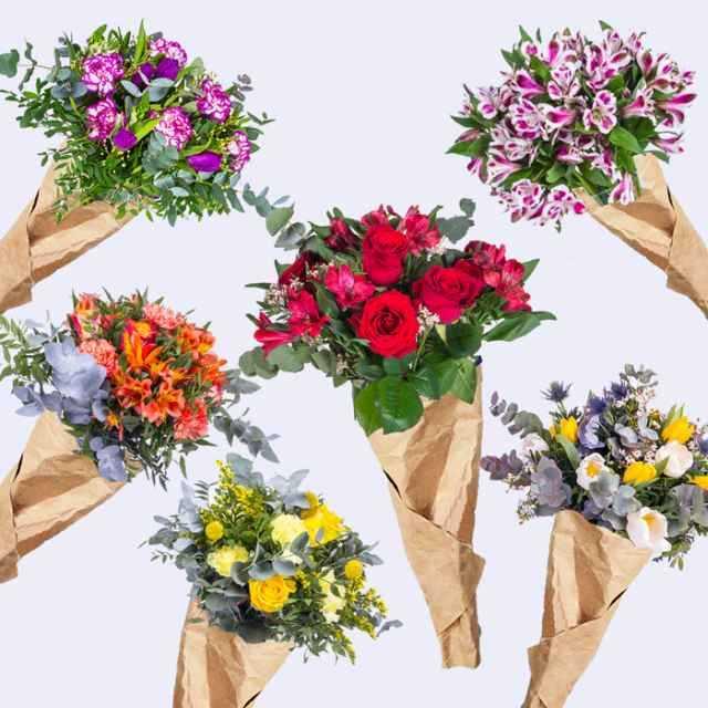 Suscripción Claudette · 6 ramos