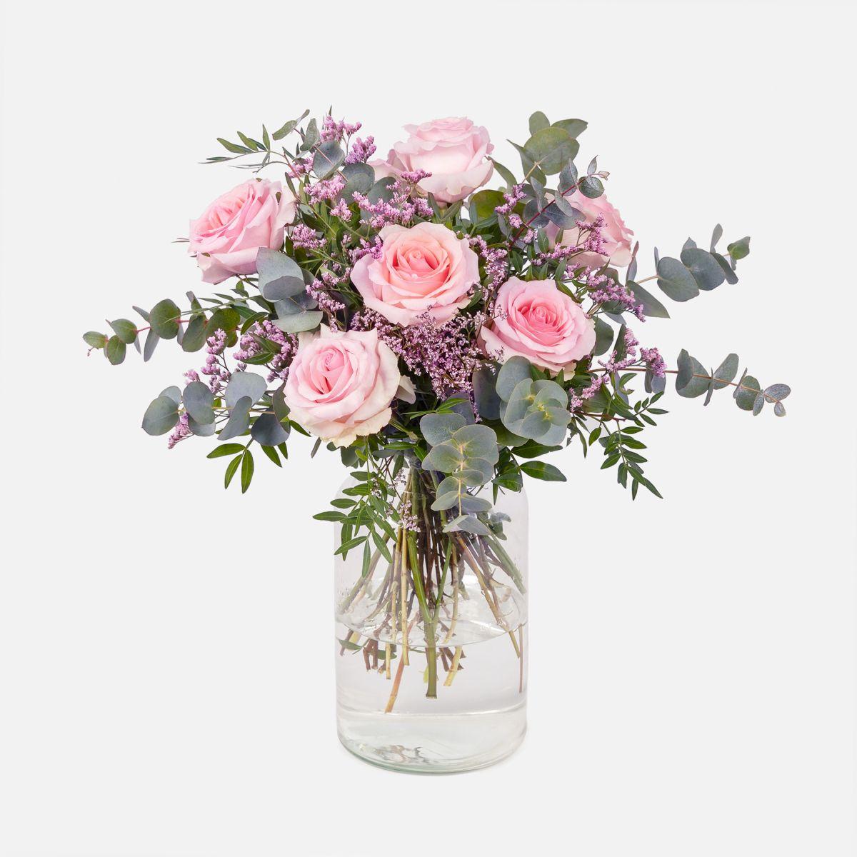 secar ramos de flores con rosas