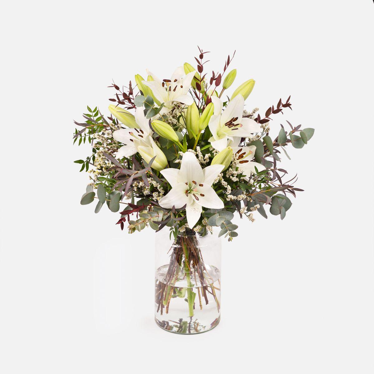 Fiori a domicilio - Gigli Bianchi - White Bloom - Colvin
