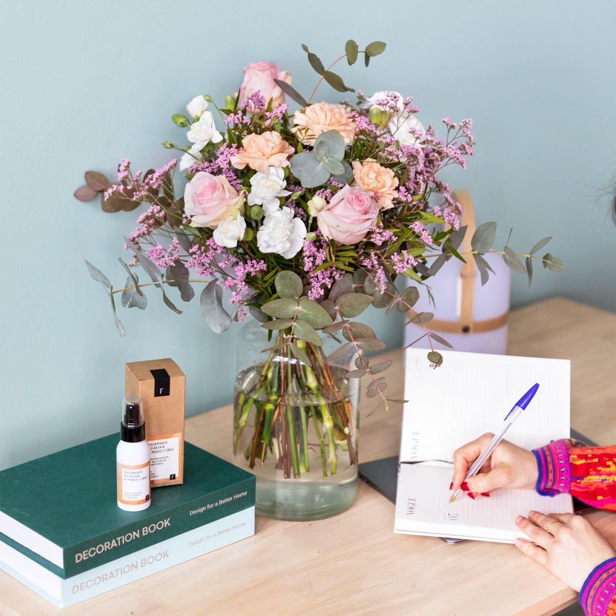 regalo pack dia madre ramo rosas