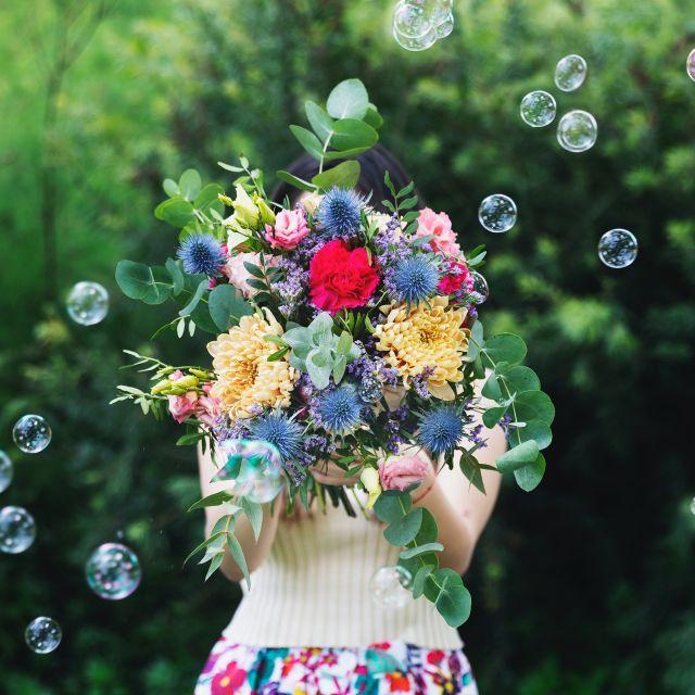 Lisianthus Rosita - Blumenstrauß