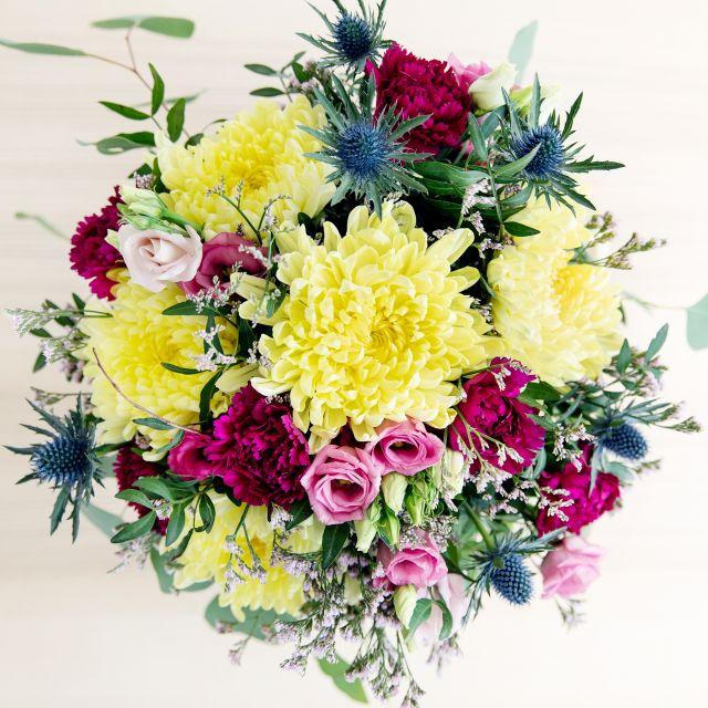 Fuchsia Dianthus - Blumenstrauß