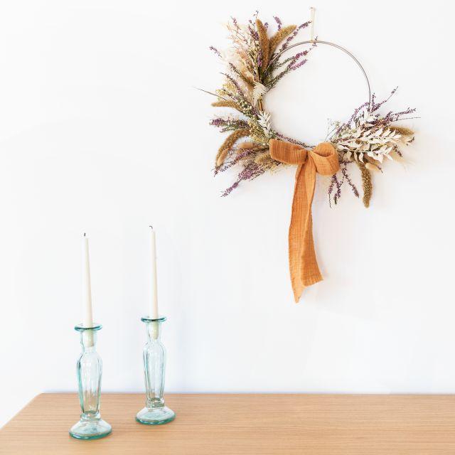 Inviare la corona di Natale Boho Wreath