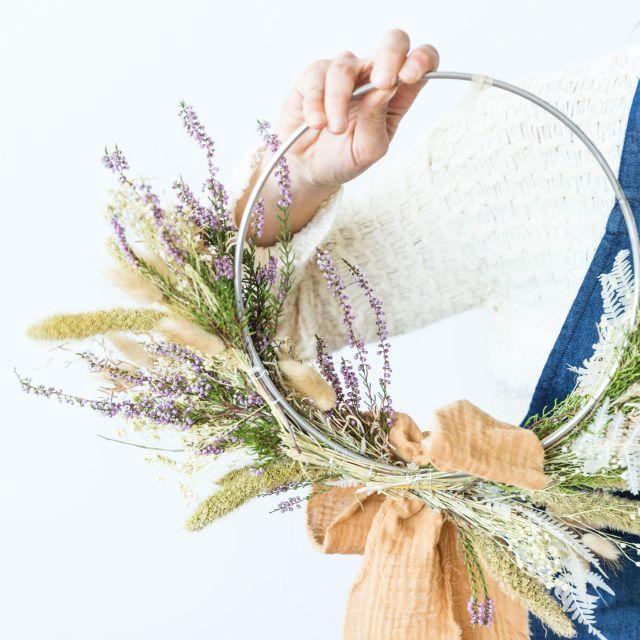 Invia online Corona di Natale Boho Wreath