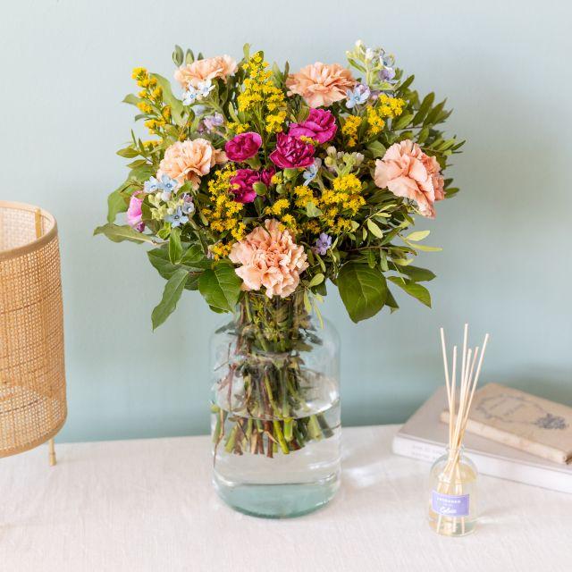 Blumen und Lavendel Raumerfrischer mit Lieferung nach Hause