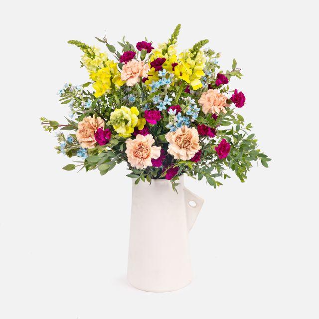 Comprare bouquet di fiori blu