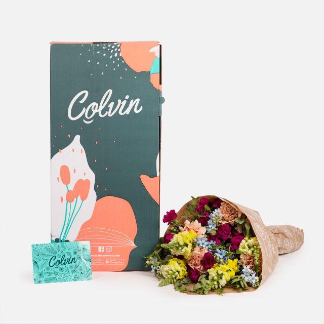 Bouquet di garofani e oxypetalum