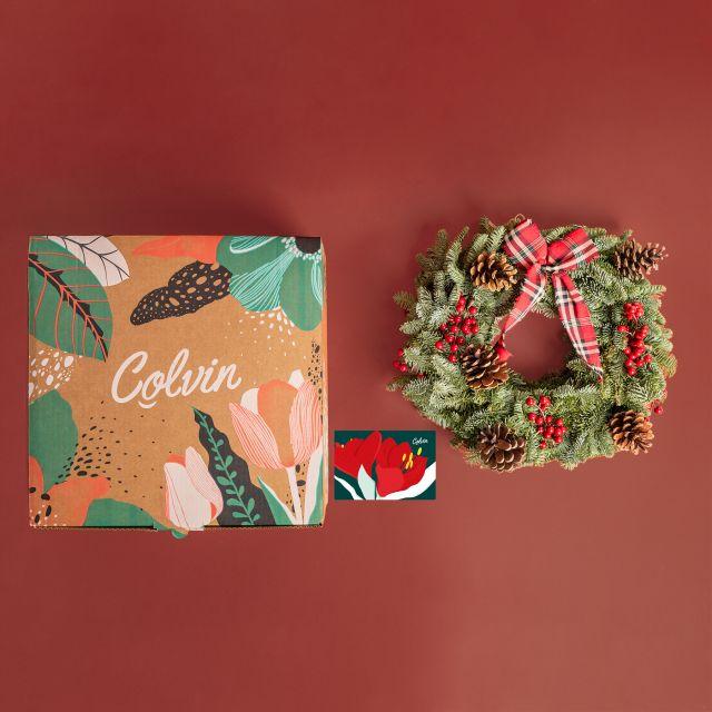 Inviare la corona di Natale Classic Wreath