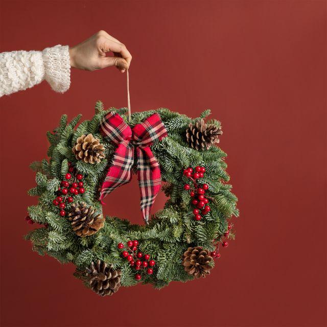 Corona di Natale Classic Wreath