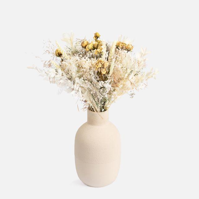 Trockenblumenstrauß mit Rosen nach Hause verschicken