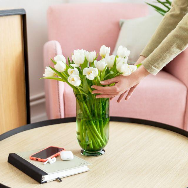 Comprar ramo de tulipanes blancos dia de la madre
