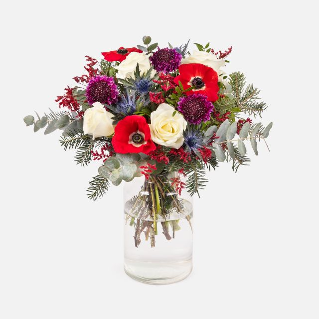Bouquet Cozy Red