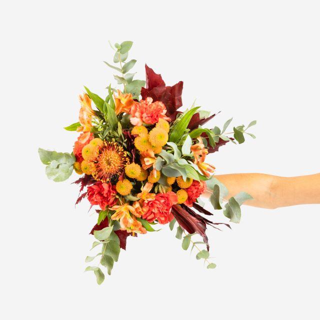 Blumenstrauß mit Chrysanthemen online versenden