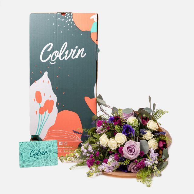 Enviar flores online de anémonas y rosas