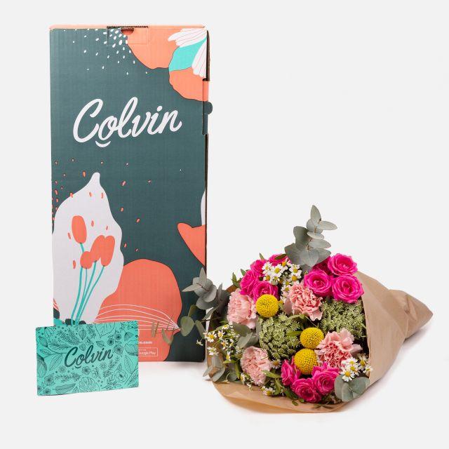 Enviar flores online de rosas fucsias