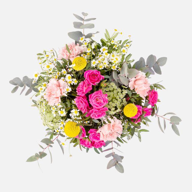 Invia un bouquet di fiori primaverili Feeling Happy
