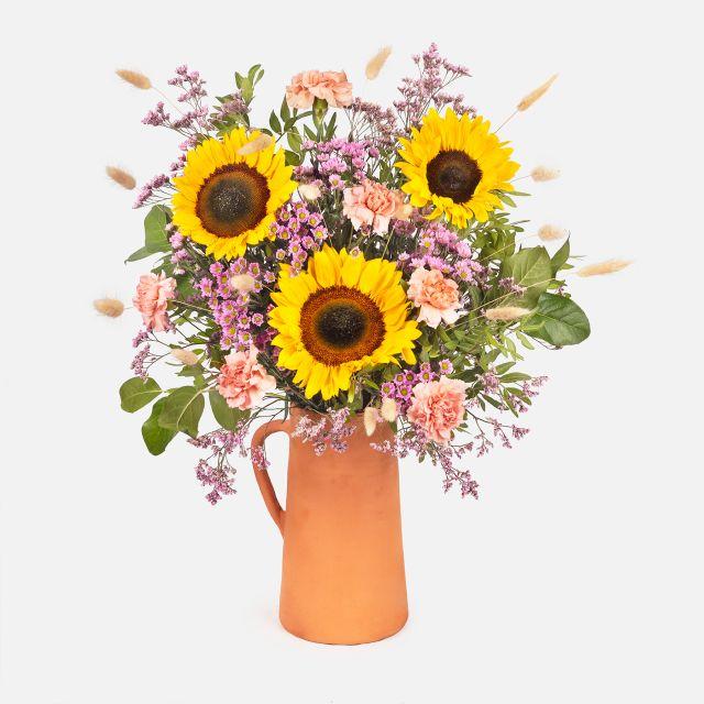 Bouquet di fiori con girasoli find your sun colvin
