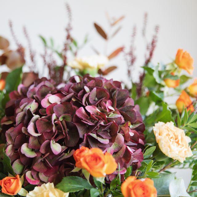 Comprar Ramo con hortensia y erica flor