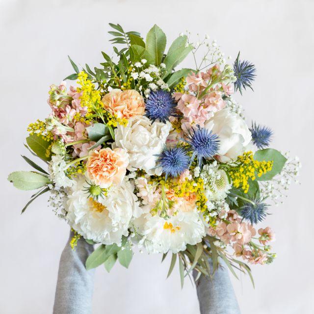 Blumenstrauß mit Pfingstrosen follow me babe colvin