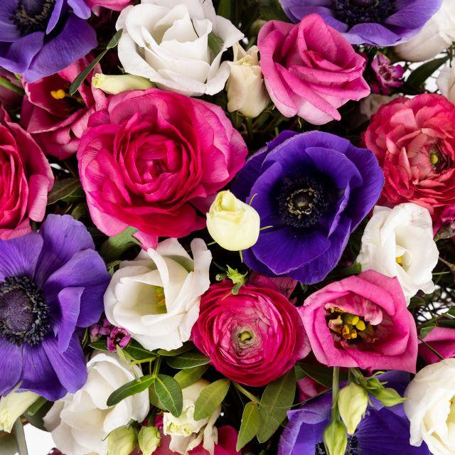 Blumenstrauß mit lila Anemone verschicken