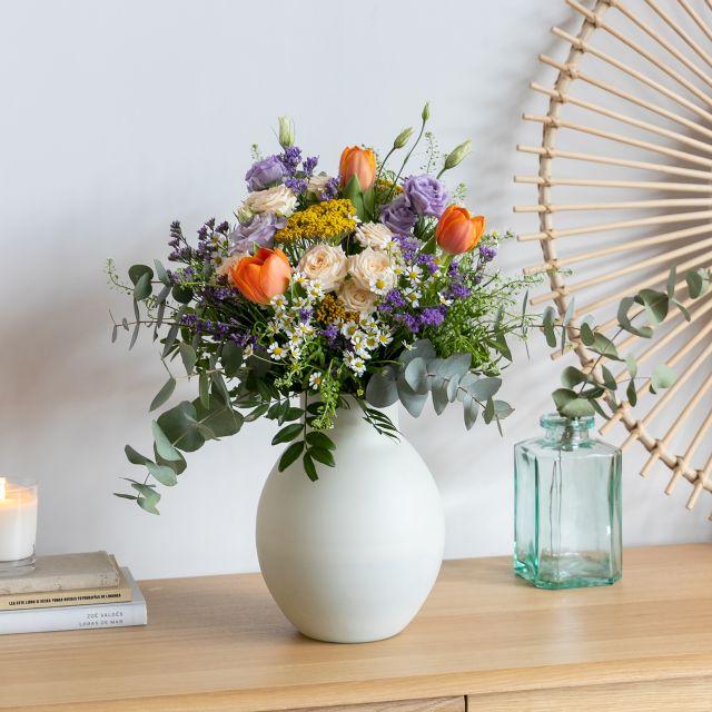 Enviar ramo de flores a domicilio con rosas de pitimini