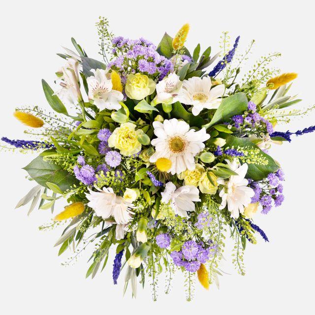 Enviar ramo de flores de lavanda e aster
