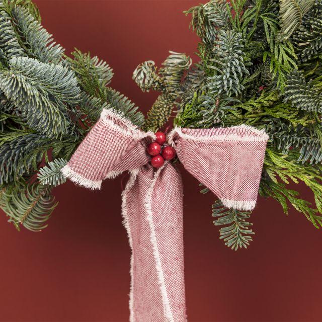 Invia online la corona di Natale Industrial Wreath