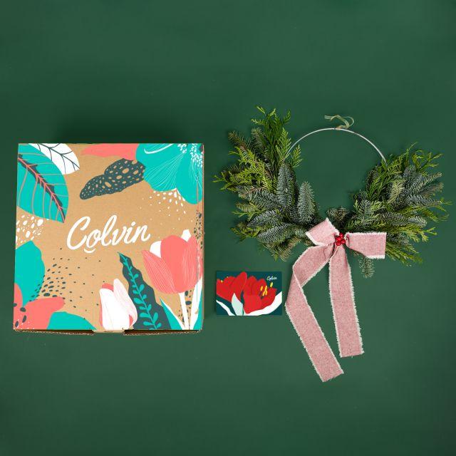 Inviare la corona di Natale Industrial Wreath