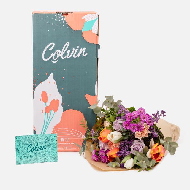 Enviar ramo de flores a domicilio tulipanes y rosas