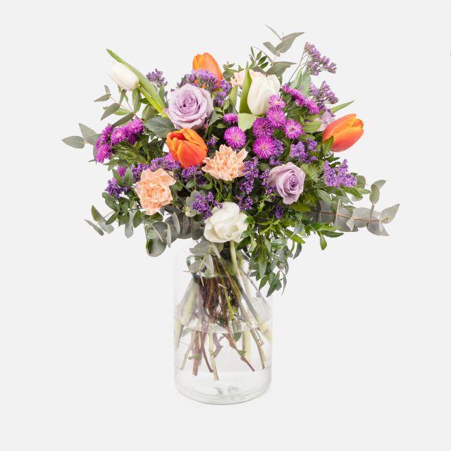 Invia bouquet di fiori primaverili Joyful Life