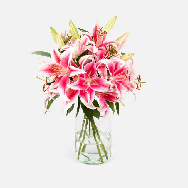 Ramo de lirios orientales Blooming Joy Colvin
