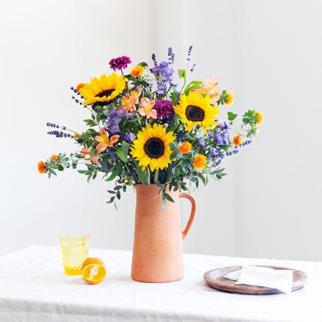 Ramo de flores con girasoles my sunshine colvin