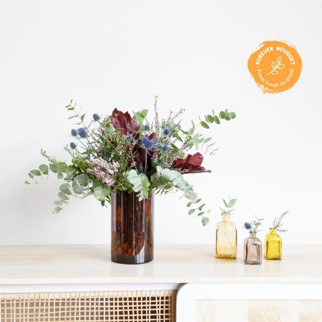 Bouquet con crisantemi