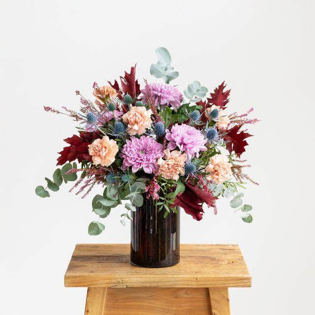 Comprare bouquet di garofani e crisantemi online
