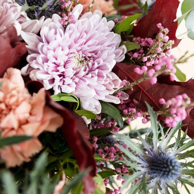 Enviar ramo de claveles y crisantemos