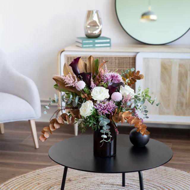 Ramo de flores con crisantemo