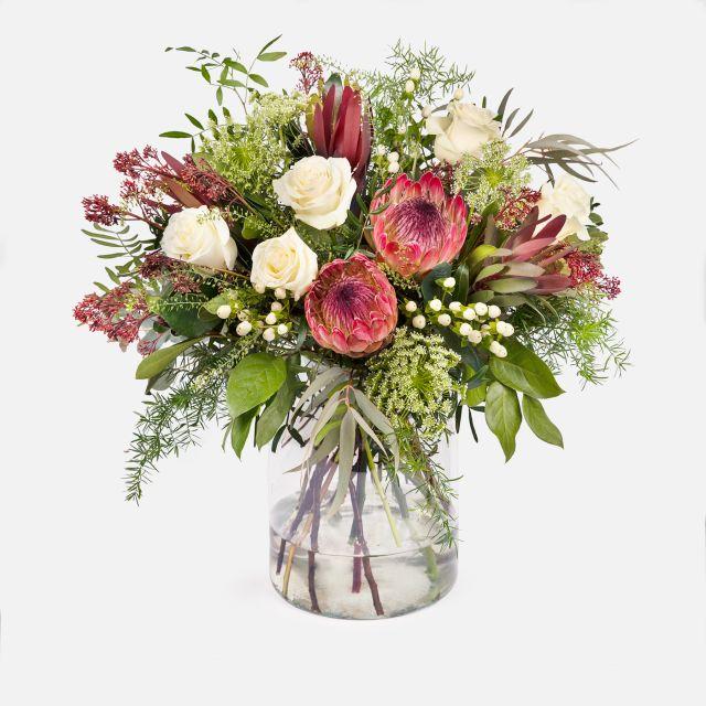 Blumenstrauß Proteagonist Colvin