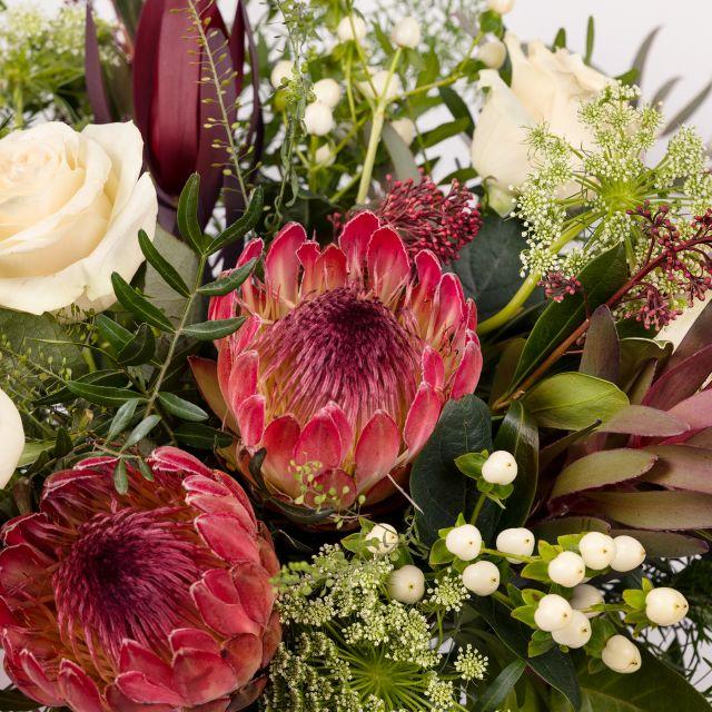 Blumenstrauß mit Protea nach Hause schicken