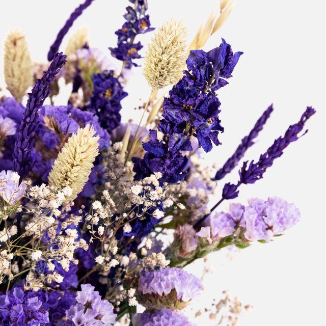 Inviare bouquet di fiori secchi Purple Lavender