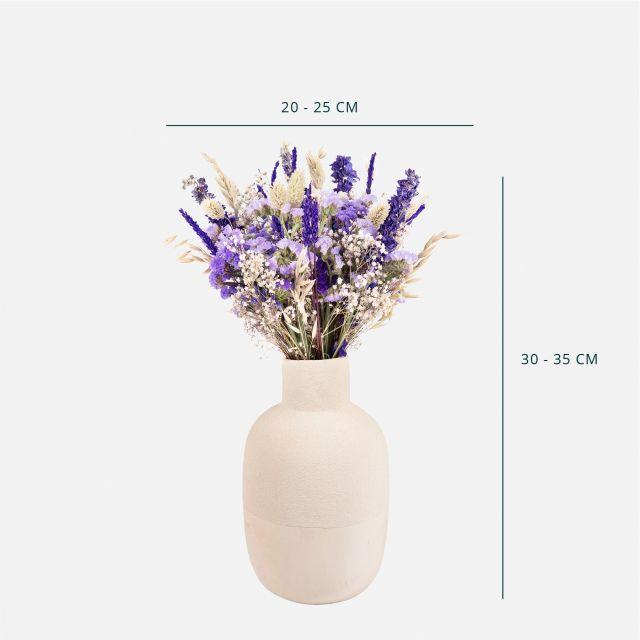 Inviare a domicilio bouquet di fiori secchi con lavanda