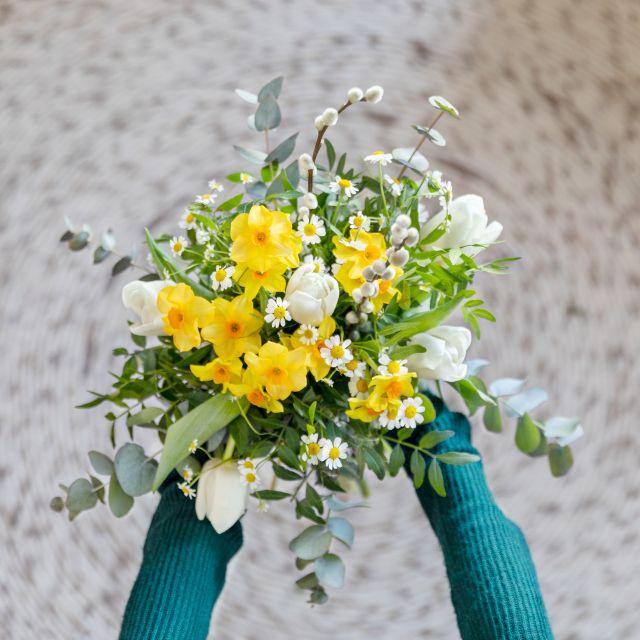 comprar ramo flores claveles