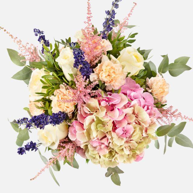 Envío a domicilio de ramo de hortensias Sweet Blossom