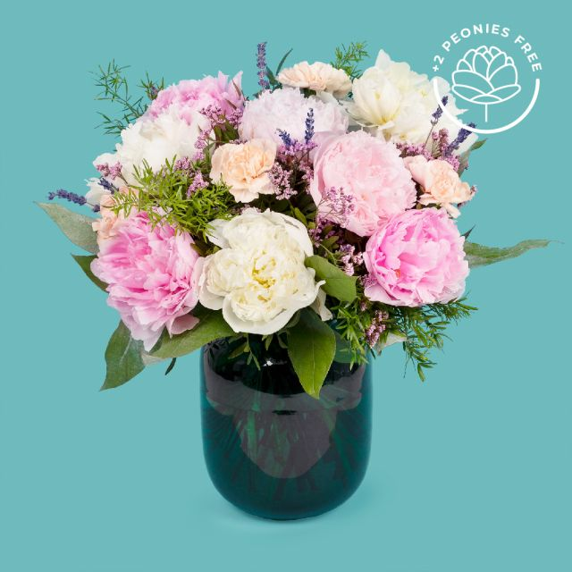 Tag me extra peonie bouquet colvin
