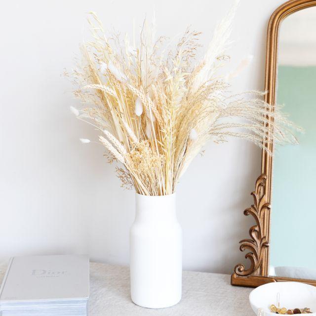 Envío online ramo flores secas con broom