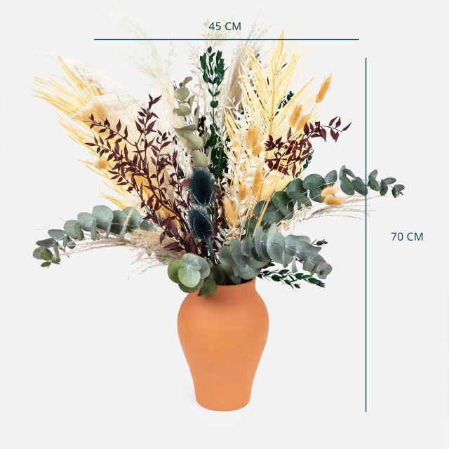 Comprar ramo flores secas hojas de palmera